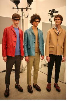 Prada Men's Fall 2013