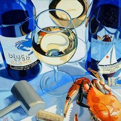 kitchens, christoph mize, new homes, art prints, crab paint, rivah, paintings, paint inspir, housewarming gifts