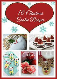 10 Christmas Cookie