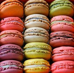 paris, color palettes, macaron, sweet treats, food, rainbow colors, french macaroon, dessert, macaroons