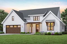 Contemporary Style House Plan - 3 Beds 2 Baths 1878 Sq/Ft Plan #48-944 - HomePlans.com
