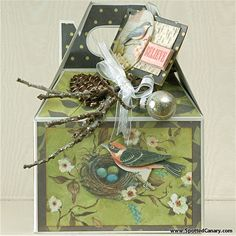 Frosted Garden Baked Goods Gift Box