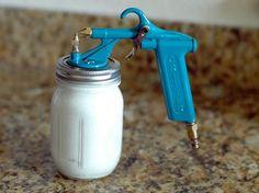 Perfect little cheap paint sprayer little green notebook loves it.   photo ddDSC_0517.jpg