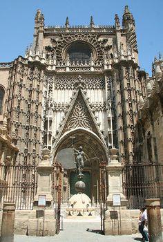 Cathedral Seville Spain, via Flickr.