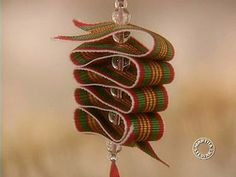 Watch Martha Stewart's Ribbon Candy Ornaments Video. Get more step-by-step instructions and how to's from Martha Stewart.