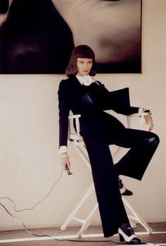 Helmut Newton for Vogue, 1970s.