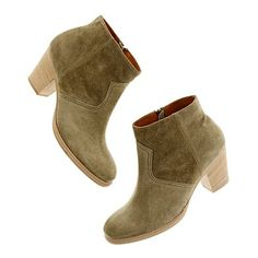 The Suede Zipcode Boot (castle rock)  I love me a knockoff Isabel Marant Dicker boot.