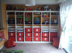kid playroom, kids playing, toy room, playroom organization, play room, toy storage, ikea share, kids storage, share space