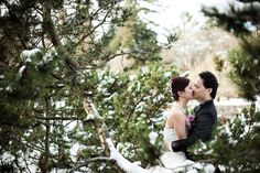 Bryan and Bingo chose Vancouver as their destination for their winter nuptials. Their Seasons in the Park wedding was only $5,000 and included a beaut