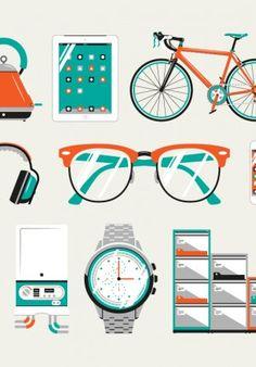 graphic, icon design, illustrations, flat design, art, glass, icons, flat illustr, jordon cheung