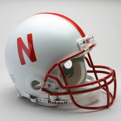 University of Nebraska Cornhuskers football helmet for Maddox bday