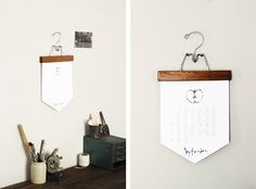 DIY Calendar @Matt Nickles Nickles Valk Chuah Merrythought