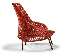 The Ahnda Chair by Stephen Burks is Gorgeously Weaved #backyard #furniture trendhunter.com