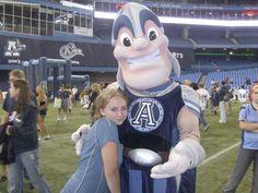 Argos Mascot ! Yeahhh!