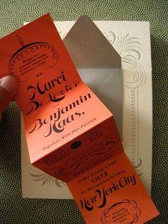 Oh So Beautiful Paper: Layered Envelope Wedding Invitations