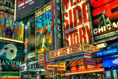 Bucket List: Go see a Broadway musical
