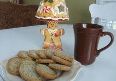 Buttery chai tea shortbread cookies