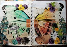 Collage Journaling at cutoutandkeep.net