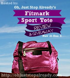 Fitmark: Sport Tote Review Giveaway. Ends 12/9