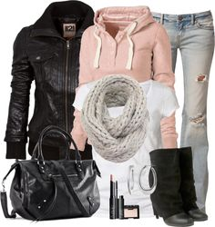 """""""Leather Jacket"""" by wishlist123 on Polyvore"""
