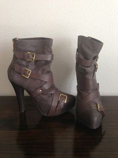 MICHAEL KORS BOOTS - Not that I can wear heels anymore....but these are HOT!!