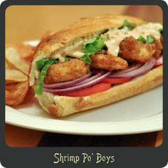 po boy sauce, greatest sandwich, recipeshrimp po, food, favorit recip, yummi