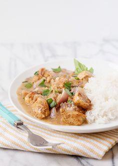 Basil Chicken in Coconut Sauce