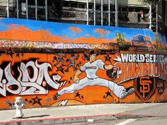 SF Giants mural