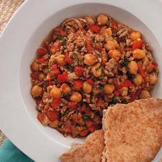 Lamb & Chickpea Chili for Two recipe