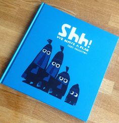 Shh! By Chris Haughton stunning pallet hilarious characterisation #picturebook #illustration