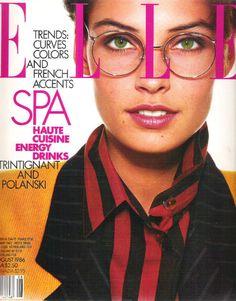 Elle US August 1986 - Famke Jansen