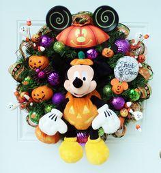 Halloween Disney Wreath Mickey Mouse