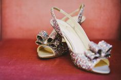 Rainbow Glitter Bridal Shoes
