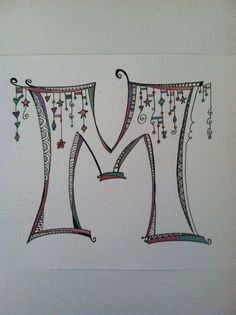 "Nice Zenspirations ""M"" monogram"