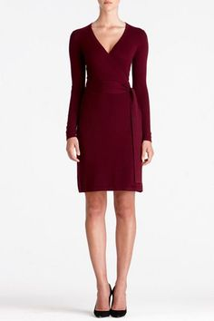 Linda Cashmere Dress | Dresses by DVF