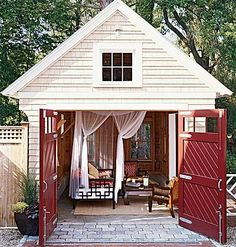 Another pic I've had in my dream book for a long time.  Our shed could easily be transformed into this.