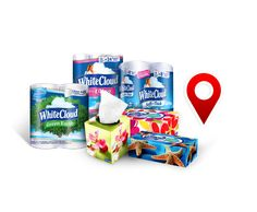 Use our store locator tool to find Walmart® locations that carry your favorite White Cloud® products.