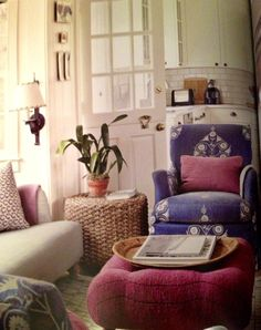 Tom Scheerer ~ cozy and inviting