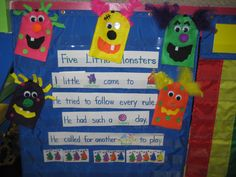Another fun monster activity to go along with the great monster books that I read around halloween!
