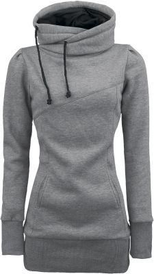 I want one of these....A comfortable, yet flattering hoodie
