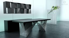METAL OFFICE DESK -