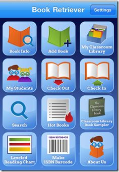 iphone app every teacher should have: Book Retriever keeps track of your entire class library using the barcodes!