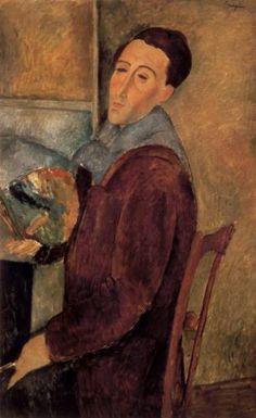 Amedeo Modigliani - Autoritratto