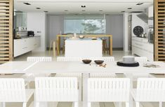 Peaceful & Soothing White Interior