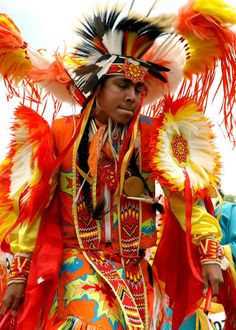 Cherokee dancer