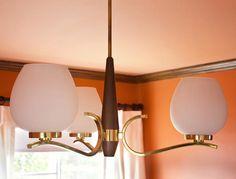 Brass and Wood 1950s Chandelier >> http://www.hgtvremodels.com/interiors/orange-packed-office/index.html?soc=pinterest