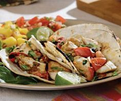 Chicken Tacos - 8 pts