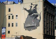 banksy street art rat » STREET ART UTOPIA