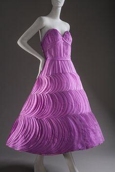 Evening Dress, Jean Dessès: 1956.
