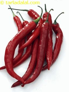 Cayenne Pepper Glossary | Recipes with Cayenne Pepper | Tarladalal.com